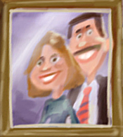 June and Bill Kendall in the album cover of album 57.png